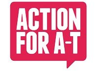 Action for A-T Logo - Funding Research to find a cure for Ataxia Telangiectasia