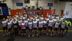 BCA Cyclists at the start