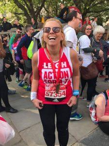 Leigh - London Marathon