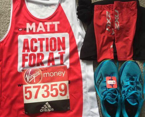 London Marathon kit