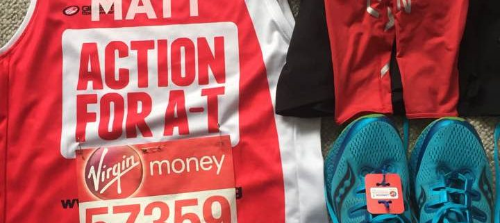 London Marathon kit
