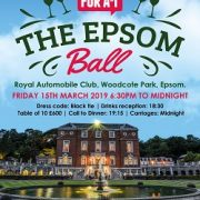 Epsom Ball flyer