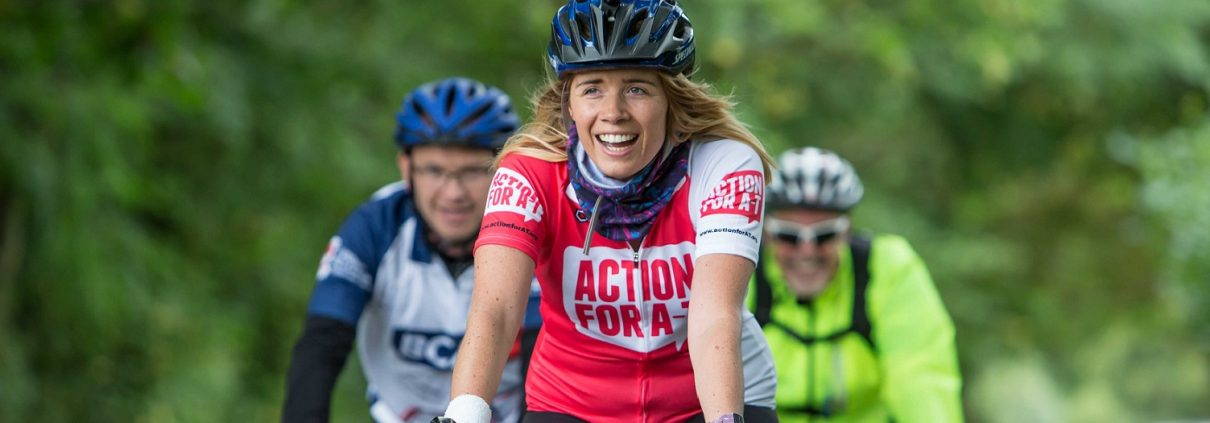 Cycling for Action for A-T