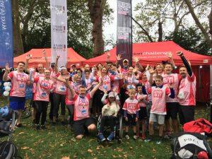 Thames Path Challenge team