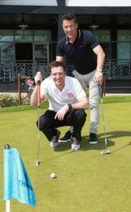 Lee Sharpe & Dean Saunders